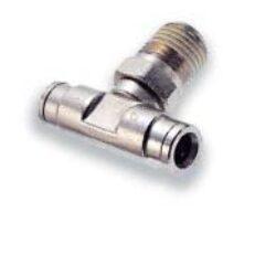 101670618-přímé šroubení R1/8, na hadicu vnějš.pr.6mm, PUSH-IN řada 10br Pmax.18 bar , O kroužky bez silikonu