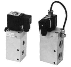 3VE16DF-3/2-cestný ventil s elektropneu. ovládáním G1/2,bez cívky,br světlost 16mm, 2-10 bar