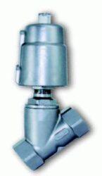 2VP20Z50-2-cestný pístový ventil pneum. G3/4, světlost 18mm,br 0-16 bar, těsnění PTFE