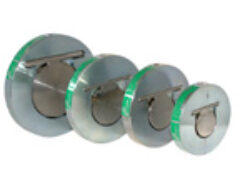 Bezpřírubová zpětná klapka BZK (VT), DN-100,PN-40.-Mezipřírubové připojení PN-40,DN-100, ( pracovní přetlak VT : 300-1600 kPa) .