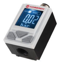 50D pneumatický                                                                 -Tlakový spínač 50D, 0...10bar, 2xPNP, G1/4, napájení 24V DC br médium stlačený vzduch filtrovaný  40MY,mazaný a nemazaný