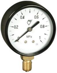 03304 - AZ-Standardní tlakoměr se spodním přípojem.br typ 03304 - AZ M12x1,5