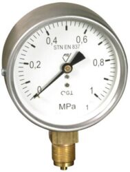 13312 - S-Standardní tlakoměr se spodním přípojem.br 13312 - S M20x1,5