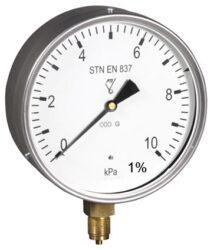 13388-Membránový tlakoměr s krabicovou membránou a spodním přípojem.br 13388  M20x1,5