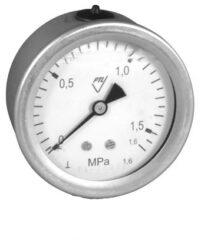 03358 - V-Vodotěsný tlakoměr se zadním přípojem.br 03358 - V  M12x1,5