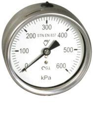 03384 - CHG-Celonerezový, glycerinový tlakoměr se spodním přípojem.br 03384 - CHG  G1/2