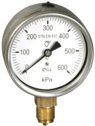 03382 - V                                                                       -Vodotěsný tlakoměr se spodním přípojem.br 03382 - M20x1,5