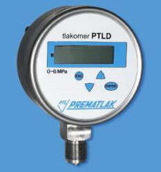 Elektronický tlakoměr PTLD-Digitální tlakoměr se spodním přípojem PTLDbr