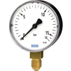 111.10.100-Standardní tlakoměr se spodním přípojembr 111.10.100 M20x1,5