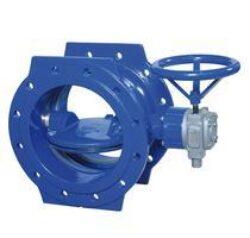 EKN-EKN uzavírací klapka přírubová s ručním kolem, se zemní soupravou VA-TELESKOP nebo ovláním elektrickým servopohonem.br PN 10 a 16.  DN 150 ... 1200.br