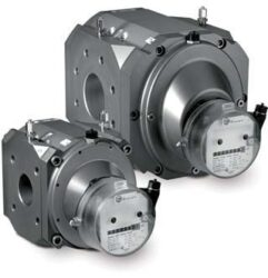 RABO G100-Rotační pístový plynoměr.br br Qmin=3 m3/h,Qmax=160 m3/h, DN 80, PN 16barbr přírubové provedení, samomazná ložiska
