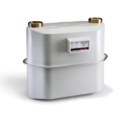 BK G10-Membránový plynoměr.  Qmin=0,1m3/h,Qmax=16m3/h,PN 0,5bar, DN40, rozteč 280mm, se šroubením