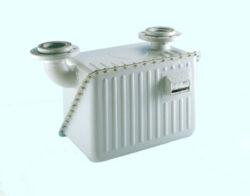 BK G 40-Membránový plynoměr.  Qmin=0,4m3/h,Qmax=65m3/h,PN 0,5bar,DN80, rozteč 510mm, horizontální poloha