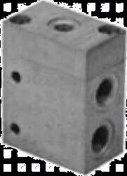 3VP10F                                                                          -3/2 pneumaticky ovládaný ventil G3/8, světlost 10 mm, pracovní tlak 2-10 bar
