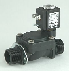 M255                                                                            -2/2 elektromagnetický ventil - nepřímo ovládaný, DN18; G3/4, 24V AC, 0,3 - 10bar, NC, Tmax.+85°C, konektor není součástí balení ventilu