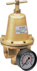 R280-08CG                                                                       -regulátor tlaku vzduchu G1, rozsah nast.0,5-10 bar s přetlakovým jištěním, Pmax.40 bar, s manometrem