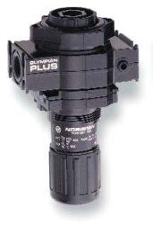 R64G-4GK-RMN                                                                    -regulátor tlaku vzduchu G1/2,rozsah nast.0,3-10 bar s přetlakovým jištěním, Pmax.17 bar, bez manometru