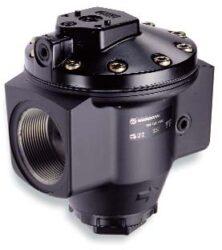 R18-C05-RNLD                                                                    -regulátor tlaku vzduchu G2 s pilotním vent. R40, rozsah nast.0,16-17 bar s přetlakovým jištěním, Pmax.31 bar, bez manometru