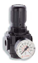 R73G-2GK-RMN                                                                    -regulátor tlaku vzduchu G1/4,rozsah nast.0,3-10 bar s přetlakovým jištěním, Pmax.20 bar, bez manometru