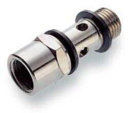 20F002828-Dutý šroub (bez regulace jednopozicový s horním závitovým připojením) G1/4, Pmax. 18 bar