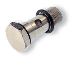 20A000028-Dutý šroub (bez regulace jednopozicový) G1/4,  PUSH-ON Pneufit řady 10, Pmax. 18 bar