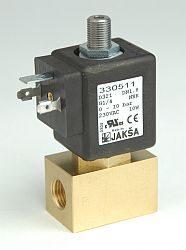 D384                                                                            -3/2 elektromagnetický ventil-přímo ovládaný DN2,3;230V AC,G1/4,0-15bar,NC,Tmax.90°C konektor není součástí balení ventilu