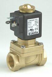 M246-pro páru                                                                   -2/2 elektromagnetický ventil-nepřímo ovládaný,DN10,G1/2,24V AC,0,5-9 bar,NC,Tmax.180°C konektor není součástí balení ventilu