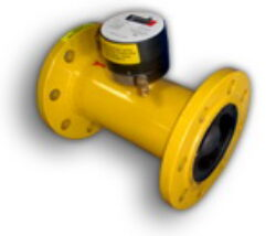 ATPE G 250-Turbínový plynoměr.  Qmin=13m3/h,Qmax=400m3/h, DN 100, PN 16bar