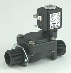 M255                                                                            -2/2 elektromagnetický ventil - nepřímo ovládaný, DN18; G3/4, 230V AC, 0,3 - 10bar,  NC, Tmax.+85°C, konektor není součástí balení ventilu