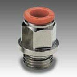 2L01002-přímé šroubení G1/8, na hadicu vnějš.pr.4mm,PUSH IN SERIE FOX Pmax.16 bar