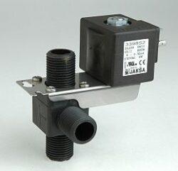 DL10R                                                                           -3/2 elektromagnetický ventil-přímo ovládaný DN10; 230V AC,G1/2,0-0,5bar,NC,Tmax.+75°C konektor není součástí balení ventilu