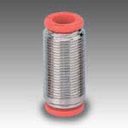 2L03003-přímá spojka RL3, na hadicu vnějš.pr.6mm,PUSH IN SERIE FOX Pmax.16 bar