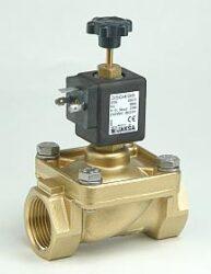 PV4-pro plyn                                                                    -2/2 elektromagnetický ventil - nuceně ovládaný DN12; G1/2, 200V DC, 0 - 0,5 bar, NO, Tmax.+60°C konektor není součástí balení ventilu a musí být s usměrňovačem