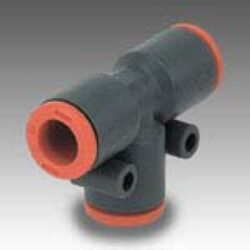 2L22001-T spojka RL22 na hadicu vnějš.pr.4mm,PUSH IN SERIE FOX Pmax.12 bar