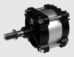 Pneumatický válec dvojčinný ISO 15552-průměr 160 mm, zdvih 250mm,s nastavitelným tlumením koncových poloh