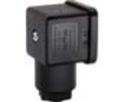 Konektor FORM A                                                                 -konektor FORM A dle DIN43650 max.250V ±10%, Pg 11,černý, kabel vnějš.pr. 6...8mm (3x1mm) šířka konektoru 27,9mm, rozsah okolní teploty: -25...+80°C