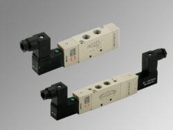 MSV 25 SOP 00 24VDC-5/2 elektropneumatický ventil G1/8 monostabil, 24V DC, 1W, 1,5-10 bar, bez konektoru
