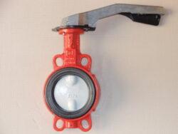 Uzavírací klapka-mezipřírubová ,série 600 ,verze B ,DN-100 ,PN-16 ,(voda).-Uzavírací klapka-mezipřírubová, série 600 verze B ,DN-100 ,PN-16 ,(pro vodu ). Ovládání ruční pákou, matr.tělesa : GG 25, manžeta: EPDM , talíř: GGG 40 . ATEST na pitnou vodu dle vyhlášky č. 409/2005. Připojení - stavební délka dle DIN 3202-K1, ISO příruba PN6/10/16 .