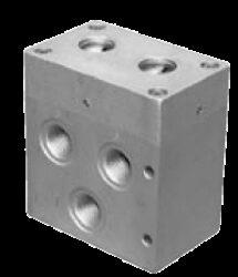 53VPP25F-5/3-cestný pneumatický ventil G1,  světlost 25mm, 2-10 bar
