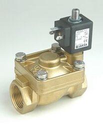 D301                                                                            -2/2 elektromagnetický ventil s pomocným vzduchovým ovládáním DN25,24V AC,G1,0-6bar,NO,Tmax.75°C konektor není součástí balení ventilu