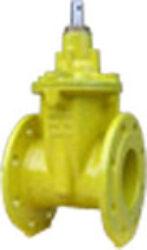 šoupátko přírubové -víkové typ: EKO-PLUS 301,DN-50,PN16, plyn.-Šoupátko přírubové -víkové s volným koncem ,typ: EKO-PLUS 301,DN-50,PN16, pro médium  BIOplyn, plyn.