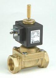 PV4NC                                                                           -2/2 elektromagnetický ventil - nuceně ovládaný, DN12,  G1/2, 200V DC, 0-0,5 bar, NC, Tmax.+60°C konektor není součástí balení ventilu a musí být s usměrňovačem