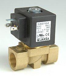 D240-2/2 elektromagnetický ventil-přímo ovládaný DN10,230V AC,G1/2,0-2bar,NC,Tmax.130°C konektor není součástí balení ventilu