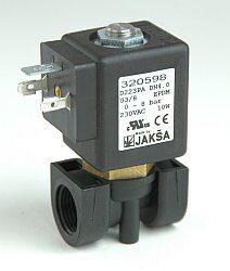D223PA                                                                          -2/2 elektromagnetický ventil-přímo ovládaný DN4,24V AC,G3/8,0-8bar,NC,Tmax.+130°C konektor není součástí balení ventilu
