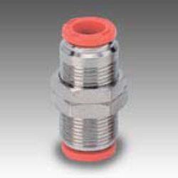2L11004-spojka RL10 na hadicu vnějš.pr.8mm,PUSH IN SERIE FOX Pmax.16 bar