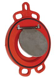 Zpětná klapka menipřírubová, série 800, DN-50,PN-10/16,(voda,pitná voda)-Mezipřírubové připojení PN-10/16 ,DN-50, pro médium voda a pitná voda - ( těsnění EPDM ) .