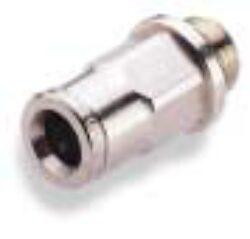 102250428-přímé šroubení G1/4, na hadicu vnějš.pr.4mm, PUSH-IN řada 10 Pmax.18 bar , O kroužky bez silikonu