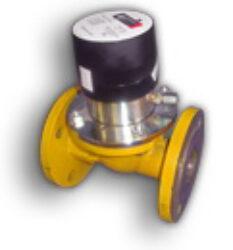 RTP G 65-Turbínový plynoměr, přírubový.  Qmin=5m3/h,Qmax=100m3/h, DN 50, PN 5bar  MID schválení, možno používat pro fakturační měření.