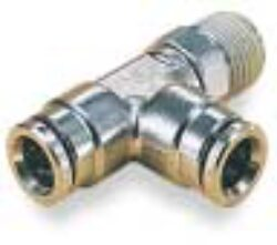101680828-T šroubení otočné G1/4, na hadicu vnějš.pr.8mm, PUSH-IN řada 10 Pmax.18 bar , O kroužky bez silikonu