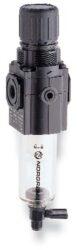 B72G-2GK-AE1-RMN-filtr-regulátor G1/4, tlakový rozsah 0,3-10 bar, vložka 5 µm,automatické vypouštění kondenzátu, s přetlakovým jištěním